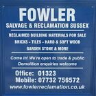 fowlersalvagereclamationsussex