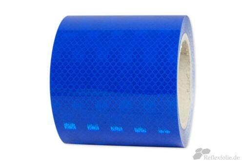 lfm x 100mm 3M™ Reflexband 3930 RA2 Reflexfolie reflektierend blau selbstklebend