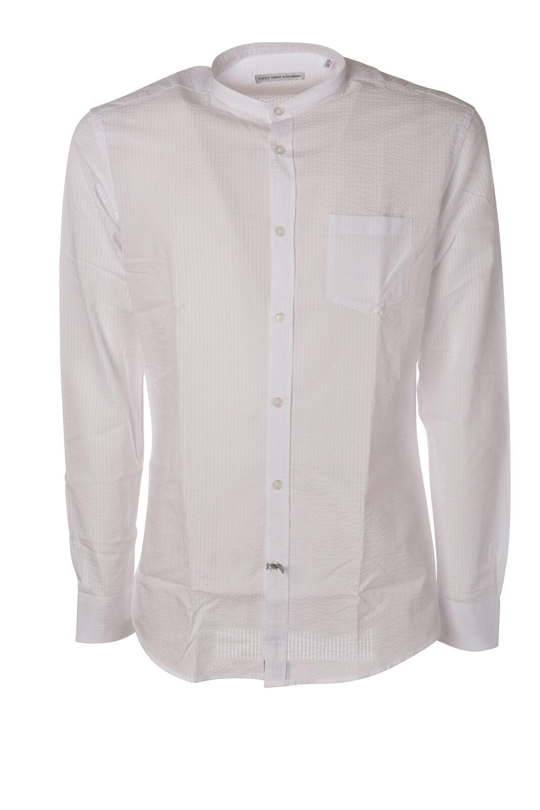Daniele Alessandrini - Shirts-Shirt - Man - White - 5912409C191318