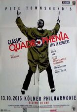 PETE TOWNSHEND'S QUADROPHENIA - THE WHO - 2015 - Konzertplakat - Köln