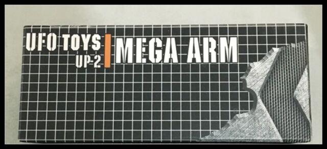 UFO Grey Mega Arm for ROTF Leader Class Mega Hand DOTM Leader Class add on