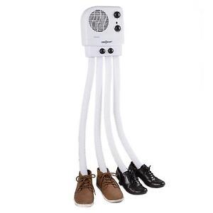 ONE Concept 350W Sèche-chaussures Électrique pour 2 Paires - Blanc