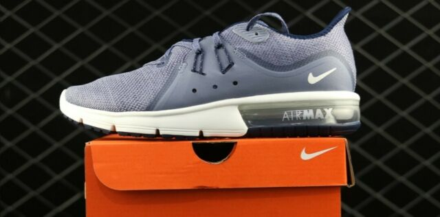 Nike Air Max Sequent 3 Mens Running Shoes 921694 402 Obsidian Summit White $100.