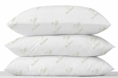 LUXURY DR TWINER PAIR ANTI-ALLERGY PERMA FRESH ANTI-BACTERIAL SUPPORT PILLOWS
