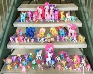 *HUGE* Lot Over 75 pcs. Hasbro My Little Pony New & Vintage Mixed Lot and extras