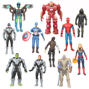 11pcs-Marvel-Avengers-Endgame-Thanos-Hulk-Iron-Man-Action-Figure-PVC-Playset-Toy