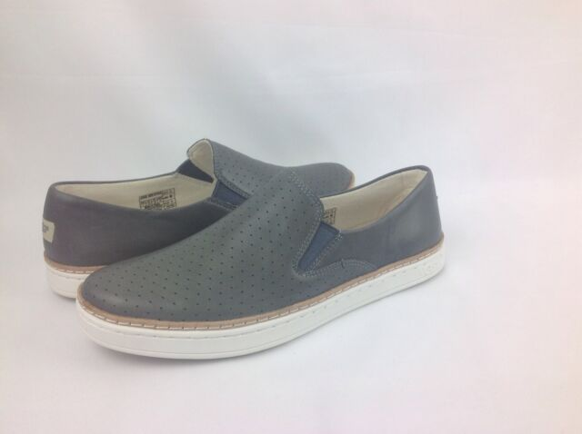 62e373ec23b UGG Australia Keile Perf Leather Slip on Loafer/sneaker Womens Grey 5.5 US