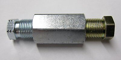 """12MM x 1MM FEMALE 2 WAY REDUCER + NUTS FOR 1/4""""(6MM) TO 3/16"""" PIPE CP114 3PCS"""