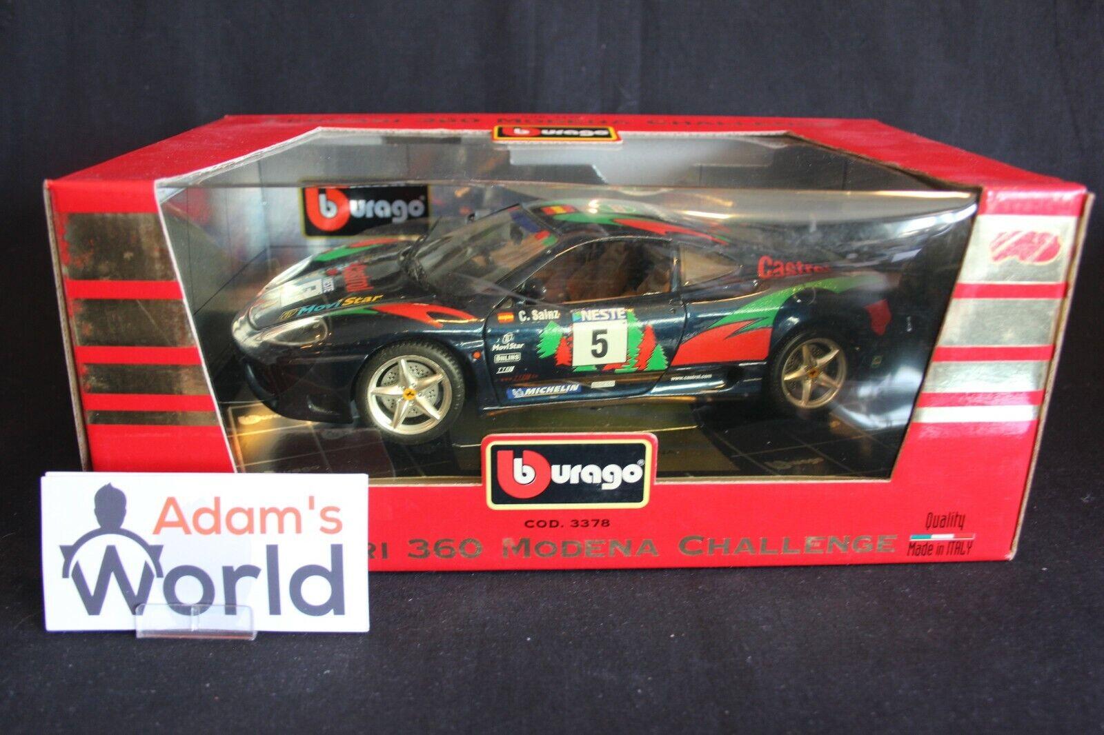 Bburago Ferrari 360 Modena Challenge 1 18 Carlos Sainz (ESP) fantasy (PJBB)