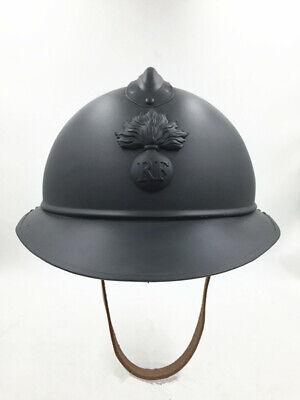 Artillery WW1-WW2 French Army Adrian Helmet Badge cockade