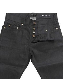552576e2340 Men Saint laurent Paris S/S 16 398563 Y869L black rip denim jeans ...