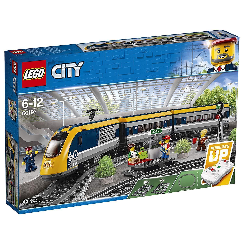60197 LEGO CITY TRENO PASSEGGERI 677 PEZZI