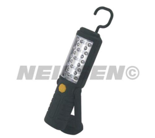 5 LED inspection Lampe torche travail Camping atelier magnétique pendaison 28