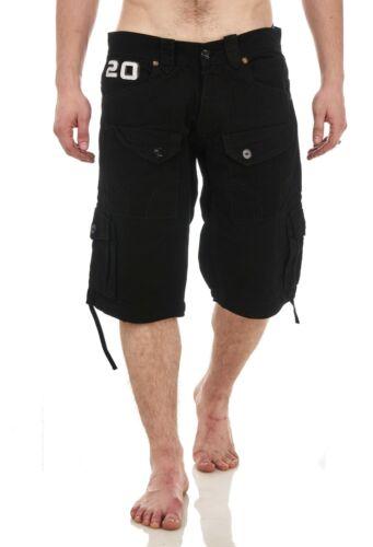 Pantaloncini da uomo Heavy Duty Chino Short SUMMER Raw Combat Casual Tasche Cargo 28-30