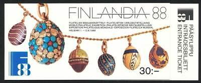 GroßZüGig 248615 Finnland Markenheft Nr.21** Finlandia 1988 Briefmarken