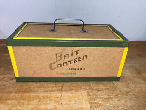 BAIT-CANTEEN-OBERLIN-FISHING-WORM-NIGHT-CRAWLER-BAIT-BOX-HANDLE-CASE-14-034