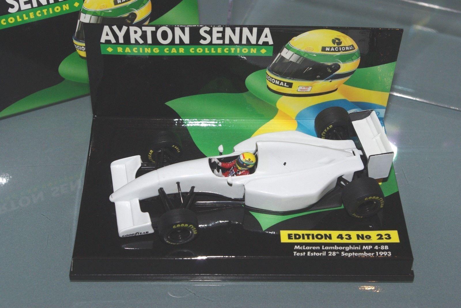 marca en liquidación de venta Minichamps F1 1 43 McLaren Lamborghini MP4 B8 B8 B8 test Estoril Senna Colección  23  a la venta