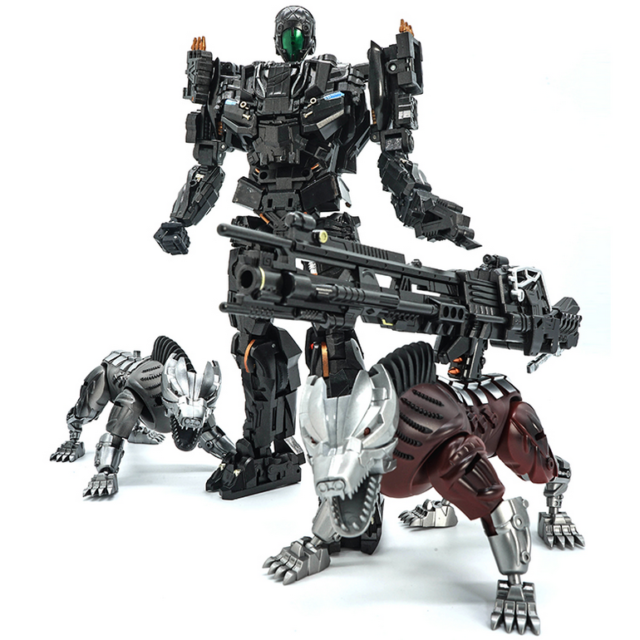 Transformers toys VT-01fixed confinement MP ratio for movie version of twin dogs