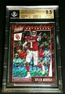 1/1 RC PRIZM KYLER MURRAY BGS 9.5 TRUE ONE OF ONE ROOKIE 2019 Panini Fathers Day