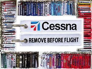 Keyring-CESSNA-AIRCRAFT-Remove-Before-Flight-tag-keychain