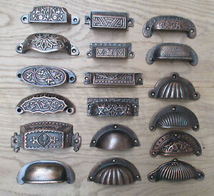 kitchen cabinet shells cast iron shell cup pull kitchen cabinet cupboard drawer 19542