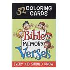 Coloring Cards 52 Verses for K by Christian Art Gifts Gift Quality
