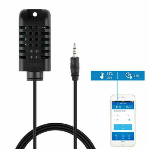 Sonoff TH16 Smart Wifi Schalter Überwachung Temperatur Feuchtigkeit Sensor 15A