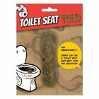 Fake Poo Toilet Seat Turd Plastic Prank Joke Novelty Gift Secret Santa Funny