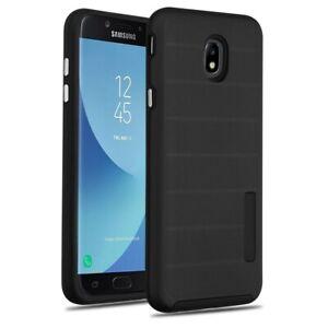 For-Samsung-Galaxy-J7-Star-Crown-V-2018-J7-Refine-Textured-Hybrid-Armor-Case