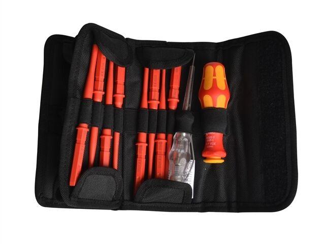 Wera 05003484001 Kompakt VDE Slimline destornilladores de 16 piezas Juego de destornilladores Slimline f470e3