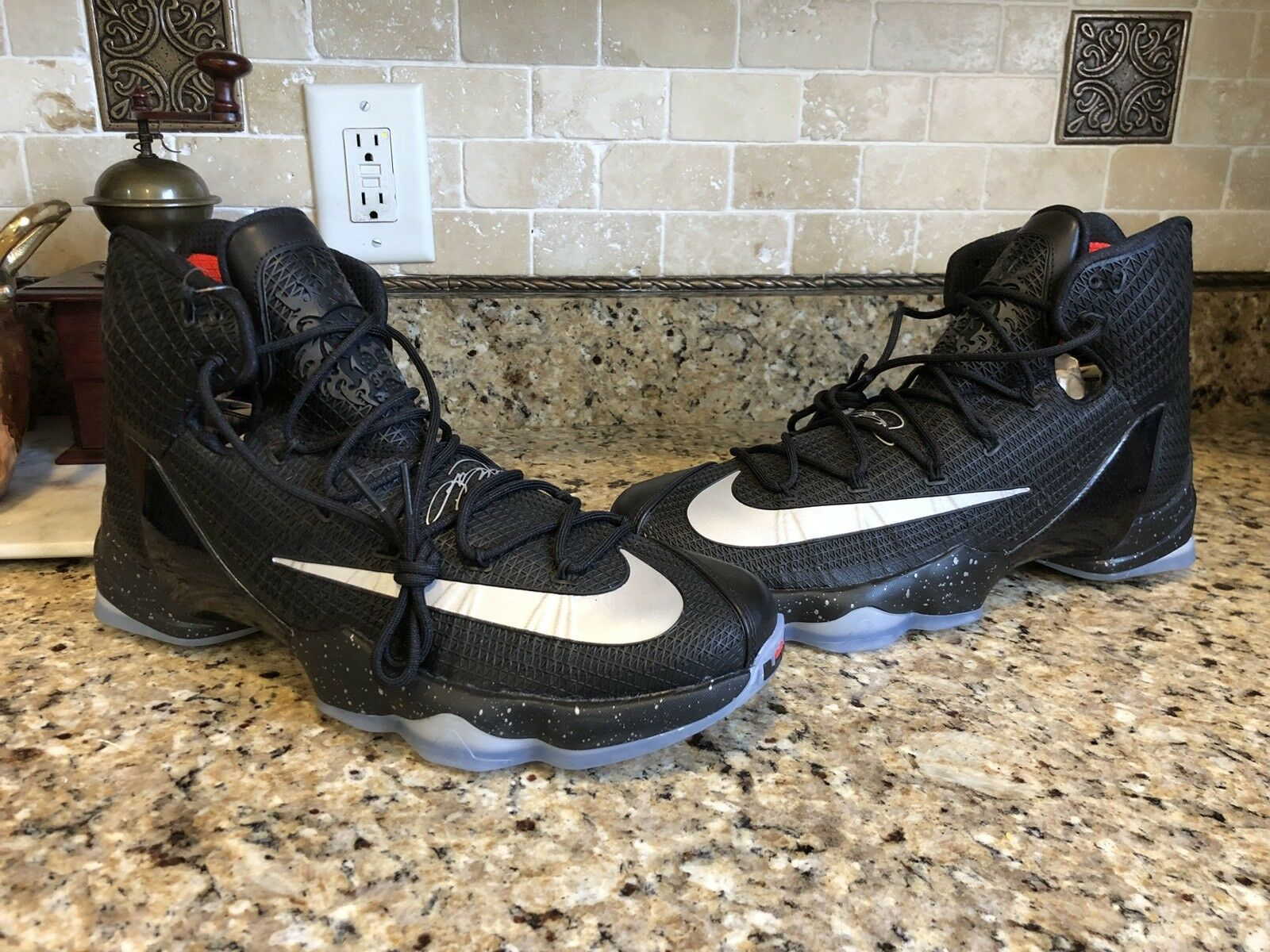 Nike Lebron 13 XIII Black Elite Elite Elite Battle Men's Basketball shoes 14 Finals 15 16 3f2668