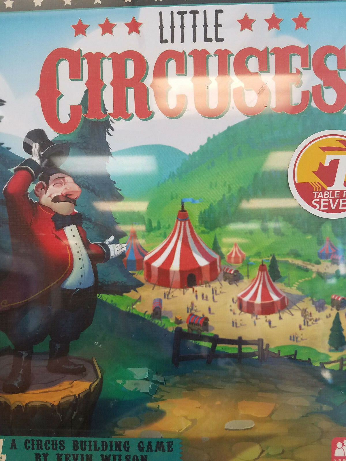 Little Circuses - IDW Games Circus Board Game New