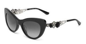 f280d44d4f5a RARE Genuine D&G Dolce & Gabbana Sunglasses Flowers Lace Black DG ...