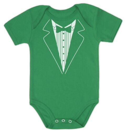 Wedding Tuxedo Bodysuit Baby OnePiece Clothing Shower Gift Grow PRESENT Boy