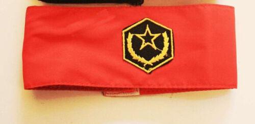 Michael Jackson Emblema Armbinde Armband Rosso o nero per MJ Fans 018