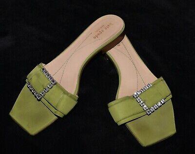 Kate Spade rhinestone olive green