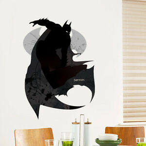 Image Is Loading Movies Batman Vinyl Art Wall Stickers Wall Decals