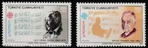 Turkye postfris 1984 MNH 2706-2707 - Europa / Cept