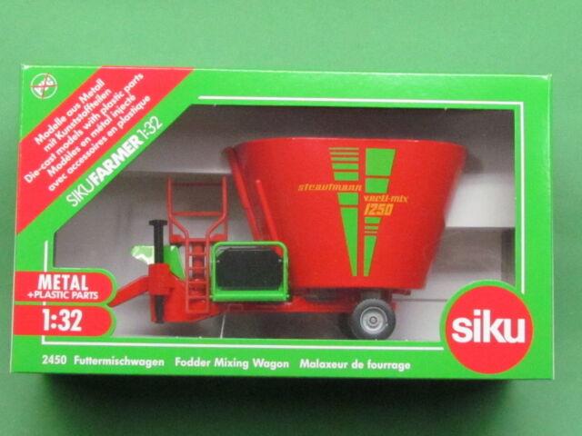 1:32 Siku Farmer 2450 Futtermischwagen Strautmann verti-mix Blitzversand DHL