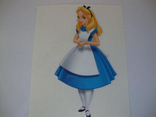 """4 /""""Alice In Wonderland Adhesivo 2 otros 4/"""" dibujos animados de Disney Personajes"""