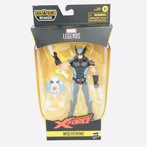 Marvel-Legends-Wolverine-X-Force-Suit-6in-Action-Figure-Wendigo-BAF-Sealed-New