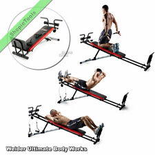 Weider Ultimate Body Works Workout Exercise Train Building Home