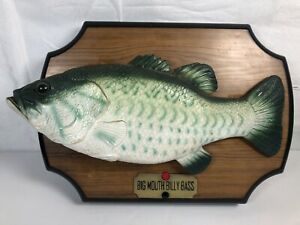 1999-Gemmy-Big-Mouth-Billy-Bass-Animated-Singing-Fish-Parts-Or-Repair