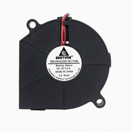 5V GDSTIME 60mm x 15mm Blower Fan Exhaust Cooling Fan Computer 6cm 60x15mm 2pin