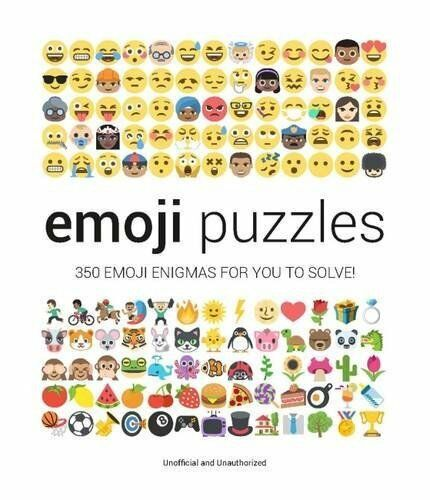 1 of 1 - Emoji Puzzles by Malcolm Croft 1853759686 The Cheap Fast Free Post