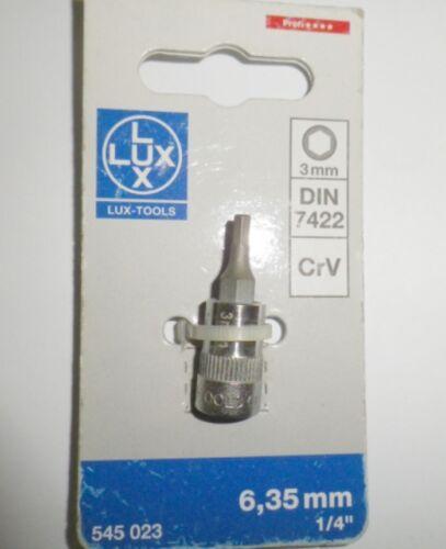 """Bussola 1//4/"""" con inserto esagonale qualità professionale made in Germany Lux new"""