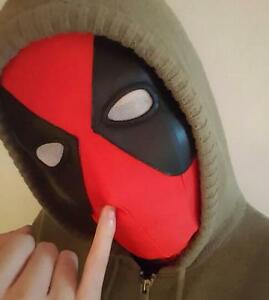X-Men Deadpool Balaclava Halloween Costume Hood Cosplay Full Face ...
