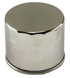 Chrome-Spin-On-Oil-Filter-for-Harley-and-Custom-Models-OEM-63782-80-amp-63810-80