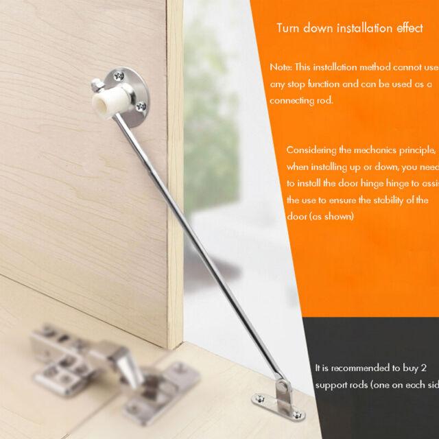 Cabinet Door Vertical Swing Lift Up Stay Pneumatic Arm Kitchen Mechanism Hinges For Sale Ebay