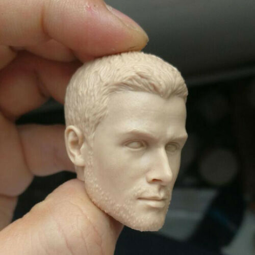 Blank Hot 1//6 Scale Green Arrow Stephen Amell Head Sculpt Unpainted